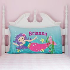 PERSONALIZED MERMAID PILLOWCASE | Personalized Planet