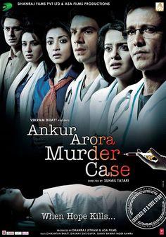 Ankur Arora Murder Case (2013) Movie Latest First Look Poster