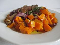 Sütőtök köret 4db Ratatouille, Pot Roast, Sweet Potato, Food And Drink, Potatoes, Vegetables, Ethnic Recipes, Carne Asada, Roast Beef