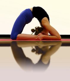 Kapotasana (King Pigeon Pose) - my 2 year goal! Only about 5 inches away from my toes right now