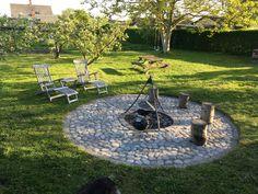 Bålsted med Pigsten – Villa Thurø