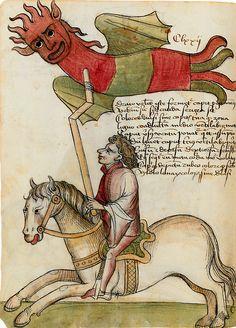 Wheee!  Bayerische Staatsbibliothek, BSB Clm 30150. Konrad Kyeser, Bellifortis. c.1402-1405.