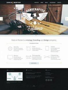 Grain and Mortar - Strategy - Branding - Design - Photography - Best website, web design inspiration showcase