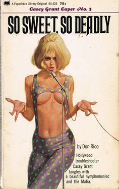 Best Vintage Women Illustration Pin Up Peter Otoole Ideas - - Pin Ups Vintage, Vintage Book Covers, Vintage Magazines, Retro Kunst, Retro Art, Comics Vintage, Pulp Fiction Book, Robert Mcginnis, Woman Illustration