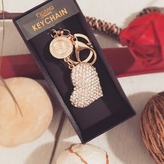 Heart Watch Keychain Golden Heart watch Keychain. Watch not activated yet. Such a cute accessory. Complete with box.  ▪️Brand New ▪️No Damage No Trade Accessories Watches