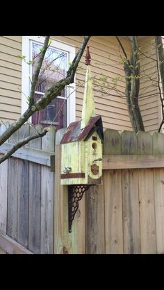 Lovely bird house by CountryCreekRelics