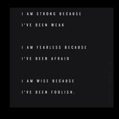 I am...