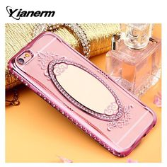 For iPhone 6S Phone Case Rhinestone Soft TPU Plating Mirror Back Cover Case  Price: $ 12.98 & FREE Shipping  Active link in my profile  Whatsapp 918826444100  #iphonecoversonline #iphonecases #iphonecase #iphonecovers #iphonelovers #styles #iphoneonly #iphonelove #iphonelovers #iphonelover #iphonegraphy #iphonecasesonline #iphoneart #iphones #iphonedaily #iphonemania #phonecase #smartcase #iphonelife #iphonephoto #iphonepic #iphone5c #iphones #iphonedaily #iphonestyle #iphonecases…