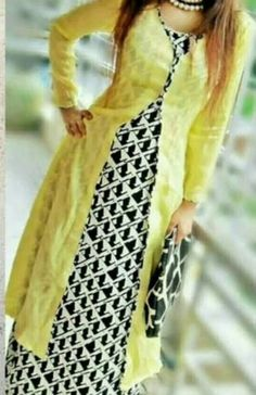 Best 11 Latest Kurta with Shrug for Women 2019 Churidar Designs, Kurti Neck Designs, Kurta Designs Women, Kurti Designs Party Wear, Blouse Designs, Pakistani Dresses, Indian Dresses, Indian Outfits, Mehndi