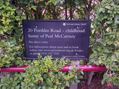 20 Forthlin Road, Liverpool: Childhood Home of Paul McCartney (August 2013).