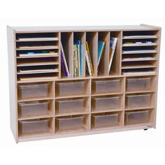 Found It At School Room Furniture   Twelve Tray Multi Sectioned Storage Unit