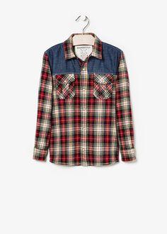 New - check shirt - Kids | MANGO KIDS
