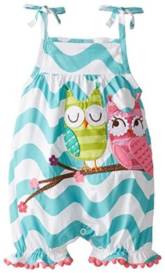 Mud Pie Baby-Girls Infant Owl Bubble, Blue, Months love this Fashion Kids, Baby Girl Fashion, Toddler Fashion, Baby Girl Owl, Baby Girl Newborn, Baby Girls, Baby Outfits, Kids Outfits, Cute Outfits
