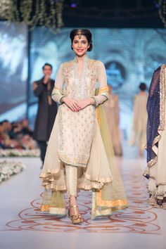 Asifa and Nabeel salwar suit at PBCW 2014