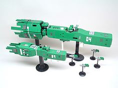 Free Planets Warships ([Soren]) Tags: lego space logh