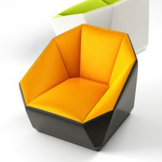cool cube. This would be great outdoors on a patio instead of regular lounge seating. Not certain how the fabric would hold up to the elements...