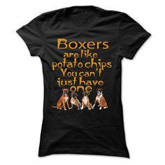 Boxers like potatochips T-Shirt