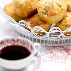 Bild på Rabarbermuffins med kardemumma