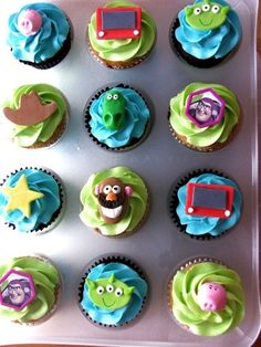 Toy Story Cupcakes, bday for my son? i think i could def makes these!