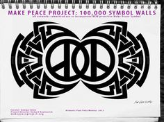 MAKE PEACE PROJECT: 100,000 New symbol walls major NYC art exhibit of street art, then Miami