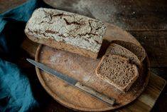 Ražný kváskový chlieb - Chuť od Naty: Foodblog o chutnom jedle a ... Challah, Recipe Images, Bread, Food, Basket, Meal, Essen, Hoods, Breads