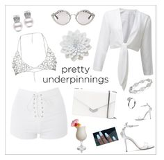 """""""Purity"""" by uniqueclever on Polyvore featuring Topshop, Jimmy Choo, Gucci, Disney and Annoushka"""