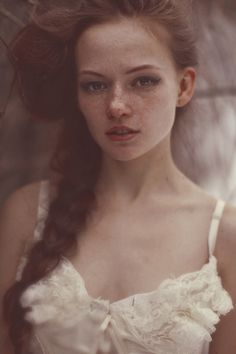 Redhead Katerina Plotnikova.  I love her eyebrows.