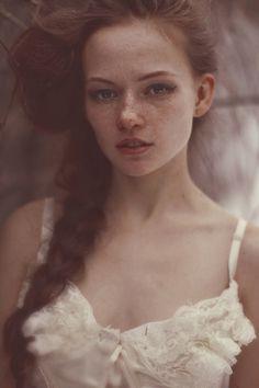 Redhead Katerina Plotnikova.  I love her eyebrows.