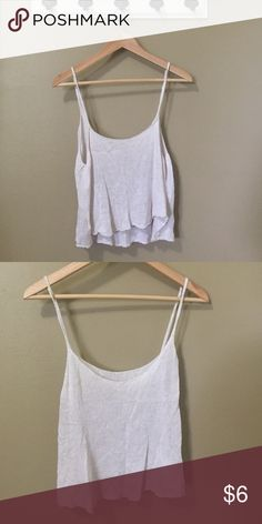 Flowy tank top Great for summer Brandy Melville Tops Tank Tops