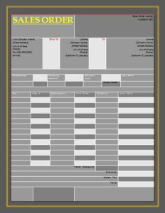 10  Medical Certificate Templates   Word  Excel   PDF Templates     13  Sales Order Templates   Word  Excel   PDF Templates