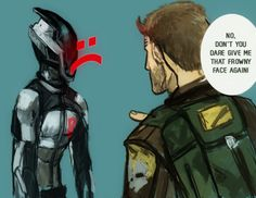 Zer0 and Axton by milch-tuete / anjakes http://milch-tuete.tumblr.com/ http://anjakes.deviantart.com/ #borderlands