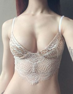 "daintyfairies: "" too pretty to wear under clothes, too revealing to wear on its own. sigh. """