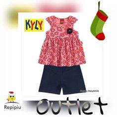 PROMOÇÃO de Natal !  Conjuntinho Kyly em promoção por R$ 39,90  Tamanhos 1 ao 3. Corre pro site!  www.repipiu.com.br  @repipiubaby !  WhatsApp 11 99239-2469  #bebê #criança #modainfantil #baby #kids #adorable #cute #babystyle #fashion #fashionkids #look #lookinho #lookdodia #forgirls #bags #babywearing #babywear #kidsfashion #almofadas #babadores #promocao #maternativa