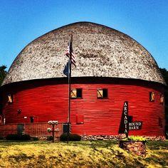 Arcadia Round Barn. Arcadia, Oklahoma.