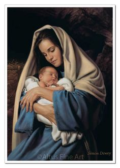 In the Arms of Mary