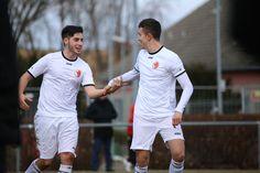 #Kaan #Bektas & #Boran #Topal freuen sich über den 2:0 Treffer.   18. Spieltag Germania Halberstadt vs. BAK 07(Saison 14/15) - Ergebnis: 3:0 Auswärtssieg