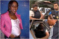 Mulher diz que cortou barriga e útero de grávida para roubar bebê