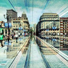 """""""Puente del Ayuntamiento de Bilbao"""" by Donibane"""