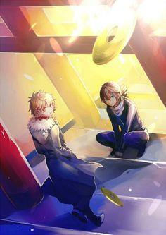 Noragami ~~ Awaiting the desired 5-yen coin :: Yukine and Yato