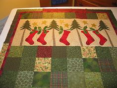 Mountain Quiltworks: Christmas is sprouting up all over