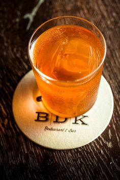 BDK - Old Fashioned recipes Old Fashioned Drink, Old Fashioned Recipes, Old Fashioned Cocktail, Bourbon Drinks, Cocktail Drinks, Cocktail Recipes, Party Drinks Alcohol, Alcoholic Drinks, Beverages