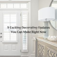 Superior Construction  Design blog post exciting decorating updates you have at home