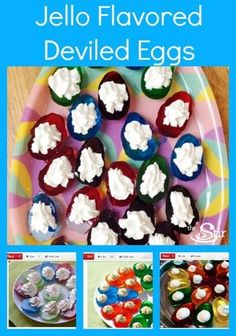 Colorful Deviled Eggs Recipe the Kids Won't Be Able to Resist