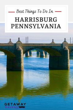 In Harrisburg PA, visit the most magnificent Pennsylvania State Capitol Building, and you'll wonder why the whole world doesn't know of its beauty. And there's so much more: river-views, in-your-face Civil War exhibits, Victoriana galore, and our recommended spots to eat and bed down. Click on the pin to discover more. Harrisburg Pennsylvania, Stuff To Do, Things To Do, Capitol Building, Usa Travel, East Coast, War, River, Places