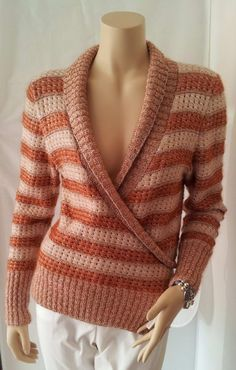 modèle tricot cache coeur