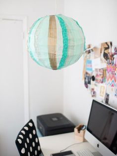 Washi tape comes in a rainbow of patterns and is easily removable without leaving damage or residue. It's the perfect material to use to decorate a dorm room and personalize college belongings.