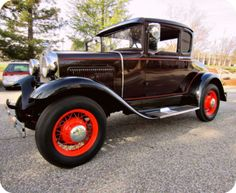 1930 Ford Model A coupe. This 1930 Ford is all original Henry Ford steel and is in terrific condition!