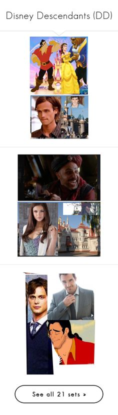 """""""Disney Descendants (DD)"""" by maddydanja94 ❤ liked on Polyvore featuring art, Material Girl, Massimo Matteo, Lands' End, Dsquared2, men's fashion and menswear"""