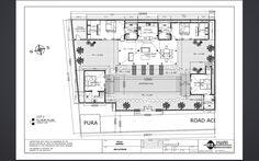 Plan de notre prochain projet à la Jl Sari dewi Oberoi, Bali (à 250m du KuDeTa) 2 villas 4 chambres Lease hold sur 20 ou 25 ans Début du chantier: fin octobre 2014 Livraison: 15 avril 2015