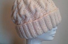 Tricoter un bonnet large adulte unisexe